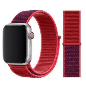NEW Daul RED Strap Loop For Apple Watch